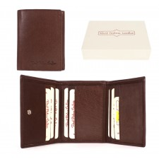 020 BROWN ITALIAN LEATHER WALLET