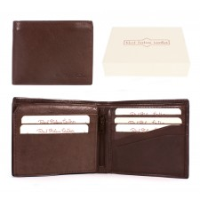 025 BROWN ITALIAN LEATHER WALLET