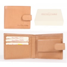 026 TAN ITALIAN LEATHER WALLET