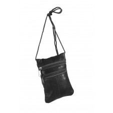 1468 BLACK NAPPA NICK PURSE