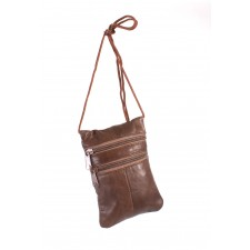 1468 BROWN NAPPA NICK PURSE