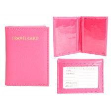 1502 TRAVEL CARD HOT PINK