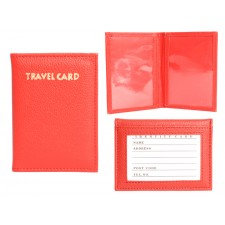 1502 TRAVEL CARD RED