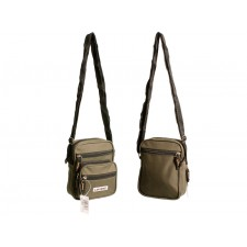2570 SMALL UNISEX POLYESTER BAG OLIVE GREEN