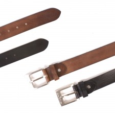 "2920 1.5"" DISTRESSED LEATHER BELT"