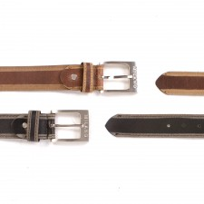 2924 SKIVED EDGE LEATHER BELT