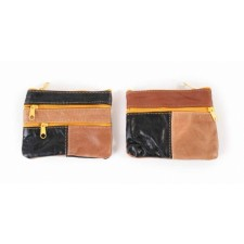 3720 multi cow hide purse