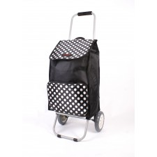 6956 BLACK POLKA DOT