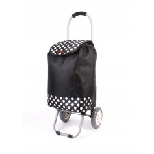 6958 BLACK POLKA DOT