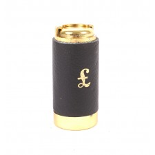 8605 leather pound coins holder