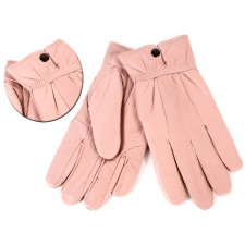 8910 DUSKY PINK SOFT LEATHER BUTTON SMALL