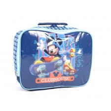 B40303 BLUE MICKEY LUNCH BAG