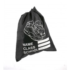 SHOE SCHOOL GYM BAG BLACK