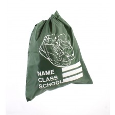 SHOE SCHOOL GYM BAG GREEN