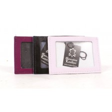 SMALL LEATHER ID HOLDER
