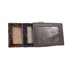 SMALL LEATHER ID POUCH