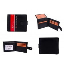 DM 9 100% LEATHER RFID WALLET