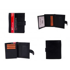 DM 3 100% LEATHER RFID WALLET